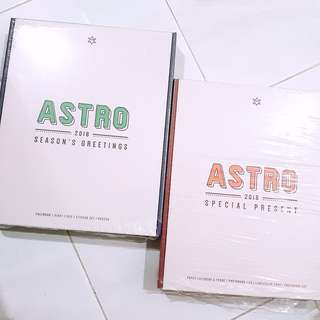 Ready Stock ASTRO 2018 Special Present Season Greeting