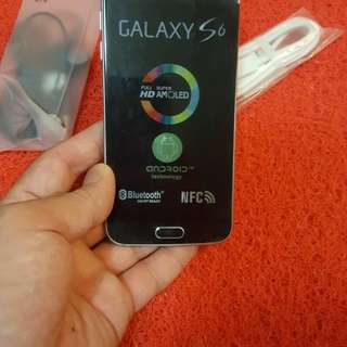 Galaxy 6s 32gb 85 new