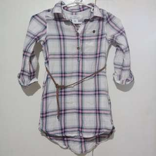 H&M checkered dress