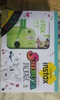 Fuji Instax Mini 9 Shibuya Package (Lime Green)