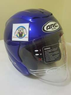 1506*** ARC RITZ Gloss Blue Helmet For Sale 😁😁Thanks To All My Buyer Support 🐇🐇 Yamaha, Honda, Suzuki