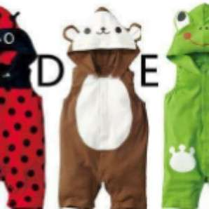 Cute monkey costume for baby boy size 90