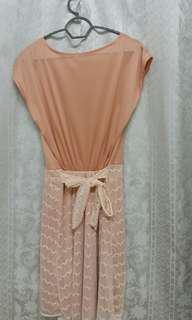 Thailand Clearance Stock Pink Dress