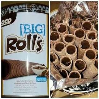 big choco rolls