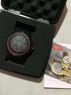 Bench/ Black Digital Watch
