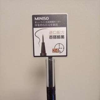 MINISO waterproof Eyeliner Brush NEW