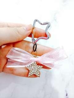 Star Diamond Keychain