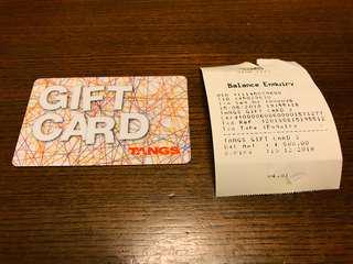 Tangs Gift Card