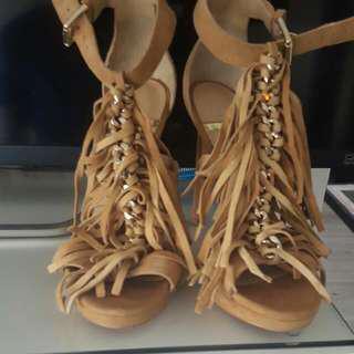 S.6 Marciano Suede Heels
