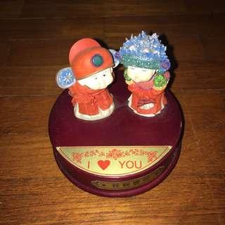 Musical Box wedding pair