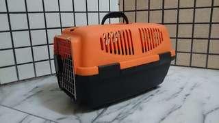 橘黑雙色寵物外出提籃