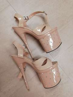 Pageant heels 8 inches