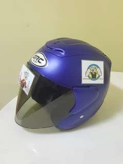 1506*** ARC RITZ Matt Blue with tinted visor Helmet For Sale 😁😁Thanks To All My Buyer Support 🐇🐇 Yamaha, Honda, Suzuki