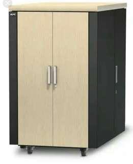 APC American Power Conversion AR4024 Netshelter Cx 24U Sound proof server rack