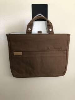 "Hellolulu Brown Laptop Bag - 14"""