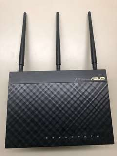 ASUS RT-AC66U AC1750 Dual band WIFI router