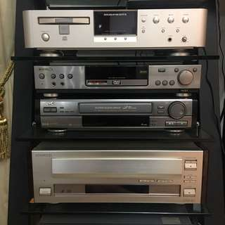 DVD/LD/Super CD/Cassette players