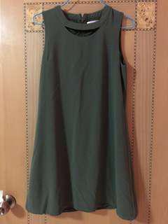 SSD IOWA GREEN DRESS