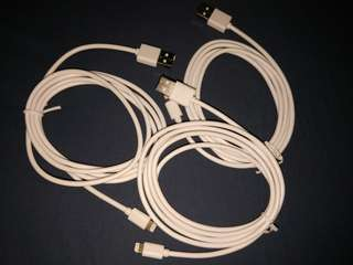 Apple iphone 充電線 USB CABLE Lighting