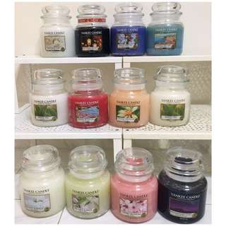 ✨2 @ $40✨ Instock Authentic Yankee Candles Medium Jars 411g