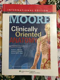 Clinically Oriented Anatomy, 7th ed.