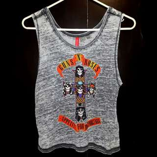 H&M Guns N' Roses Tank Top