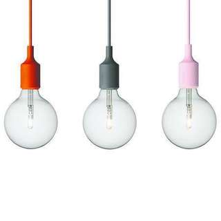 Silicon Pendant Lamp Holder ceiling mounted Drop Light