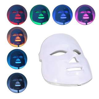 LED Photodynamic 7 Color Lights Mask