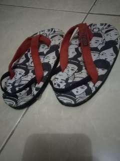 Sandal anak rubi size 4y 15,5cm