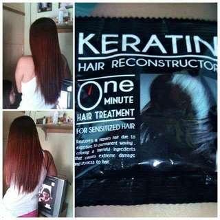 Keratin Hair Reconstructor (12 Sachets)