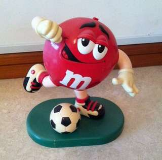 M&M Soccer Candy Dispenser