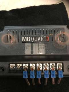 MB QUART : Crossovers - 4 Pieces Available.  Price for one unit