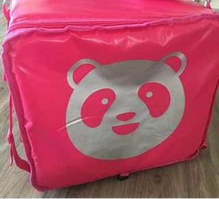 GOOD CONDITION food panda delivery bag
