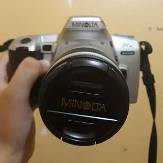 35mm SLR Film Camera: Minolta STsi Maxxum