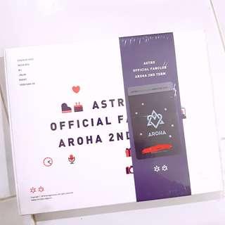 ASTRO AROHA 2nd Membership Fanclub present gift goods