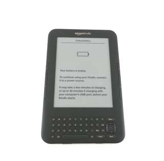 Amazon Kindle 3 (e-book reader) with wifi