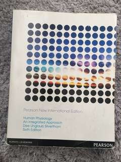 Human Physiology an Integrated Approach 6th edition