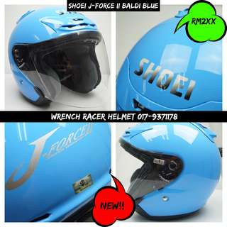 Shoei J-Force II Baldi Blue