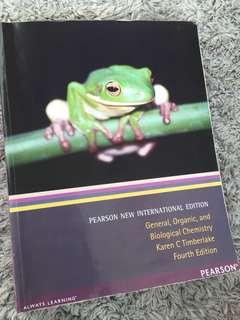 General Organic and Biological Chemistry- Karen C Timberlake