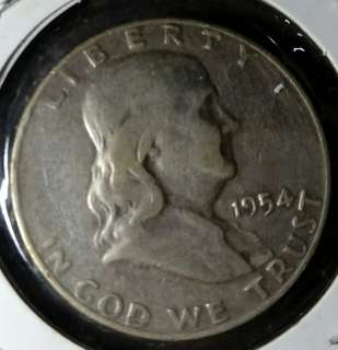超筍!1954年美國半圓銀幣