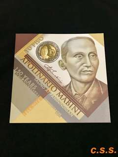 Apolinario Mabini 150years Commemorative Coin Set