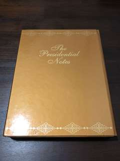 The Presidential Notes - 2 Books
