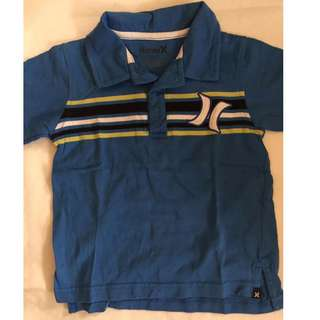 Auth Hurley Polo Shirt for Boy