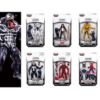 [PO] *NEW* Marvel Legends Venom Set of 7