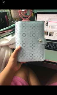 Kikki k planner perforated in blue (personal size)