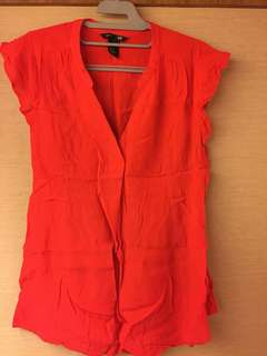 Red n pink Blouse maternity H&M