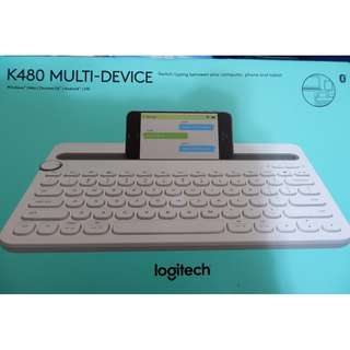 "[全新] Logitech K480 ""Muti-device keyboard"" (支援多部裝置同時連接)"