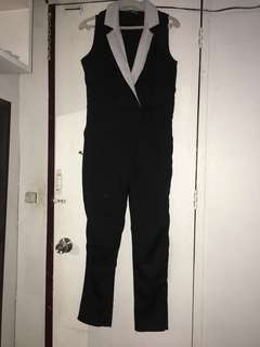 Black semi formal jumpsuit