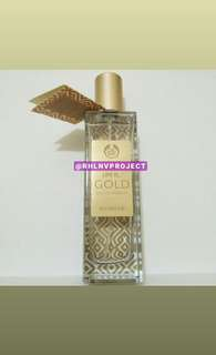 The Body Shop Life is Gold Eau de Parfume
