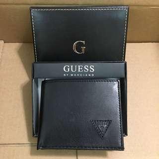 😍Guess😍Men's Leather Wallet Black 黑色真皮銀包